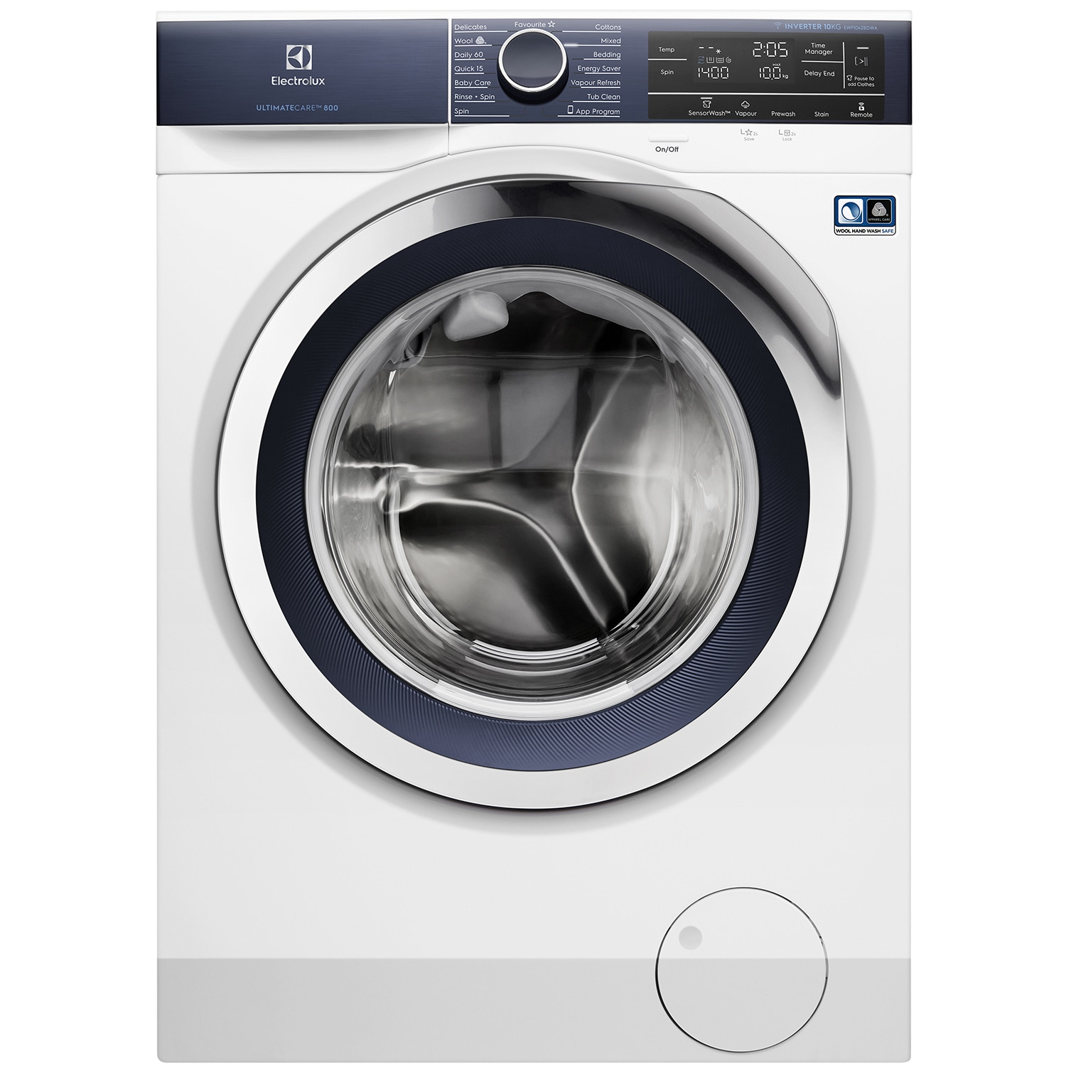 10kg UltimateCare™ 800 Washing Machine