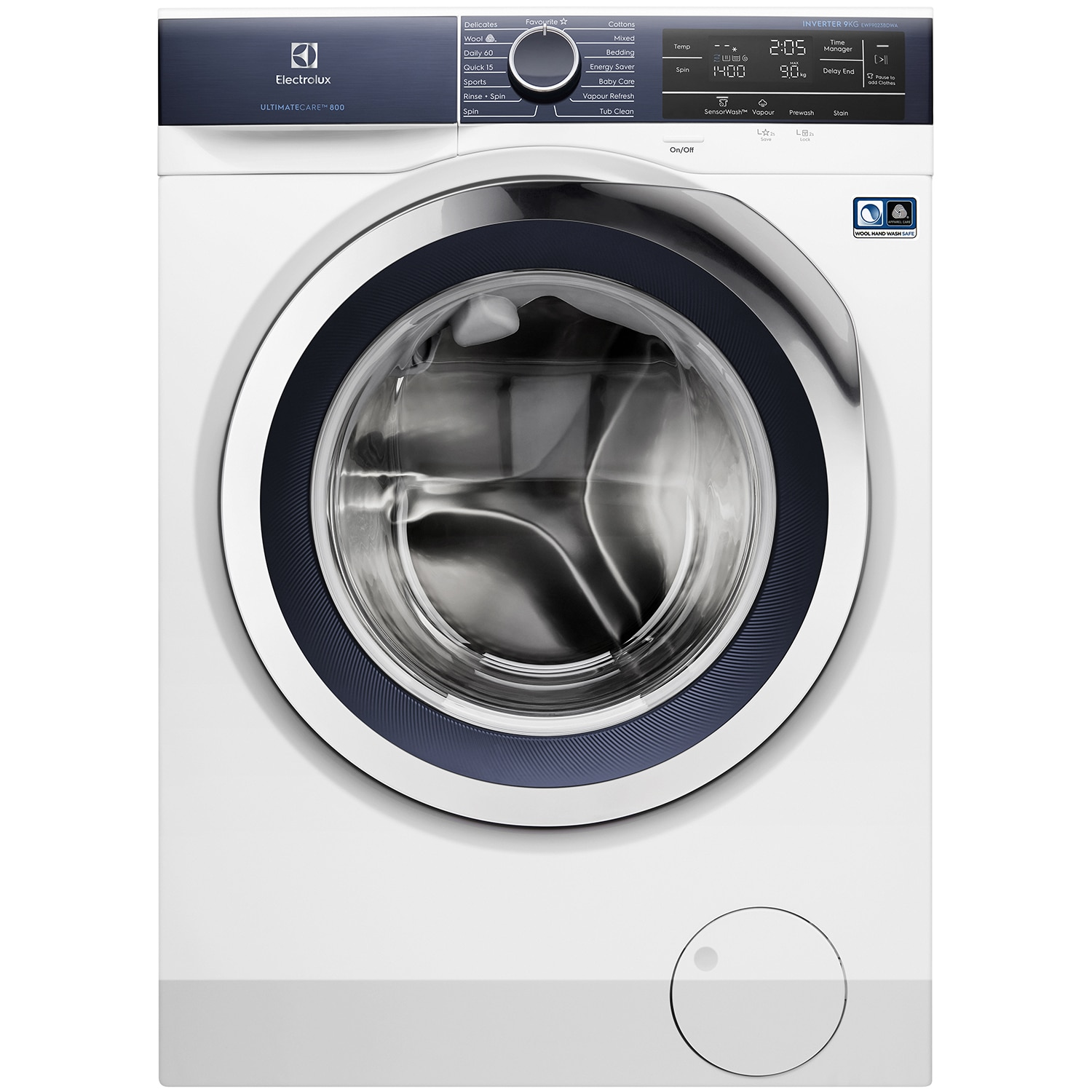 9kg UltimateCare™ 800 Washing Machine